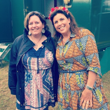 My favourite part of the day @kirstiemallsopp @handmadefair