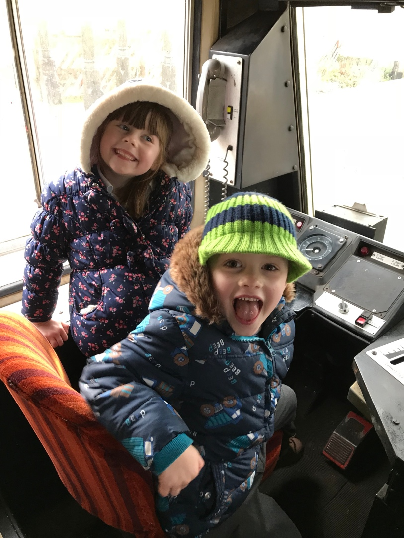 Driving the train