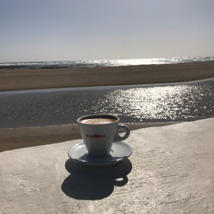 Cuppa by the sea